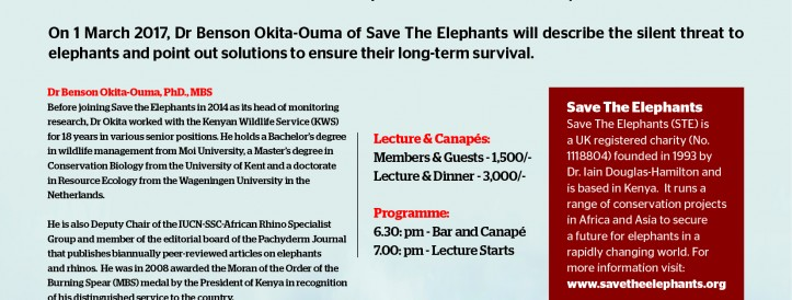 THE ELEPHANT IN THE ROOM - Imre Loefler Lecture